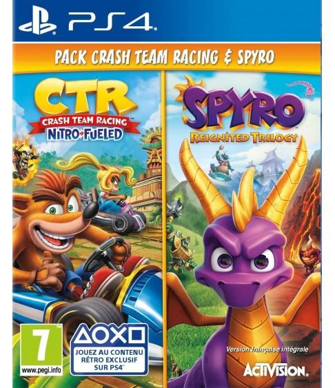 Crash Team Racing Nitro-Fueled & Spyro Reignited Trilogy [PS4]