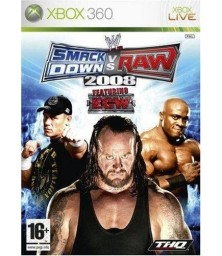 WWE SmackDown! vs. RAW 2008 Xbox 360