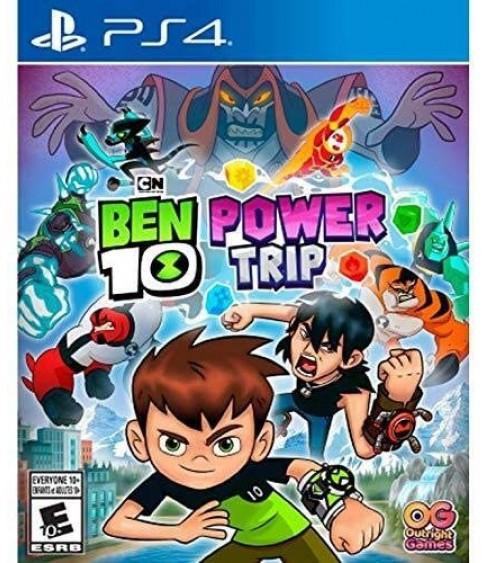 Ben 10 Power Trip PS4