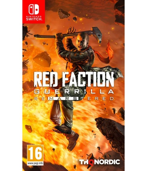 Red Faction Guerilla - ReMarstered Nintendo Switch (Русские субтитры)