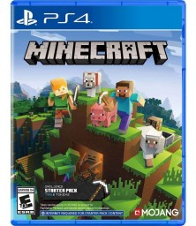 Minecraft the Bedrock Edition PS4