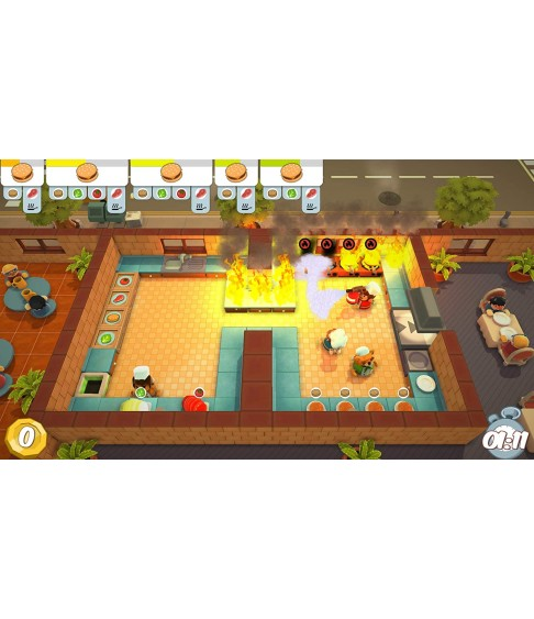 Overcooked Double Pack (Overcooked! + Overcooked! 2) PS4