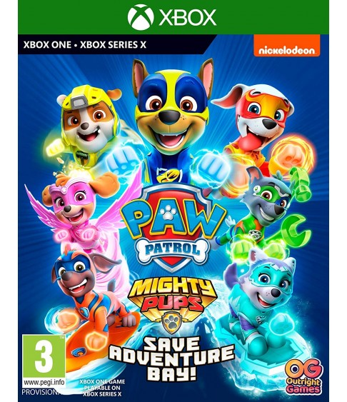 PAW Patrol Mighty Pups Save Adventure Bay Xbox One - Xbox Series X