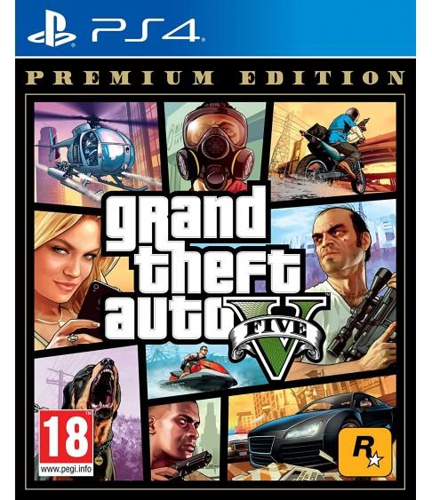Grand Theft Auto GTA V 5 Premium Edition PS4