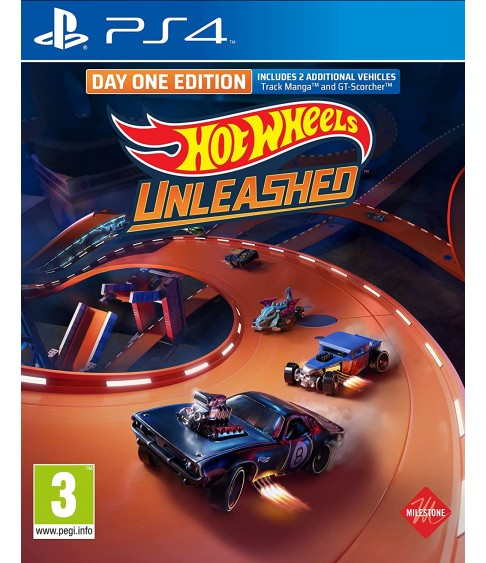 Hot Wheels Unleashed. Day One Edition [PS4]