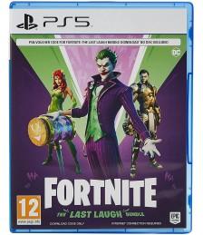 Fortnite The Last Laugh Bundle PS4