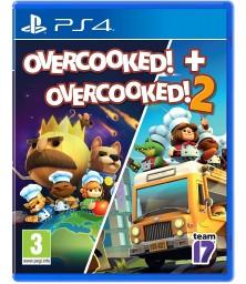 Overcooked Double Pack (Overcooked! + Overcooked! 2) PS4