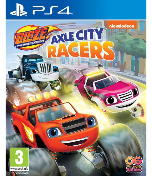 Blaze and the Monster Machines: Axle City Racers [PlayStation 4]