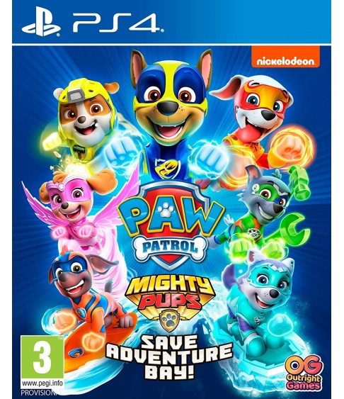 PAW Patrol Mighty Pups Save Adventure Bay PS4