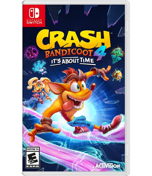 Crash Bandicoot 4: It's About Time Switch