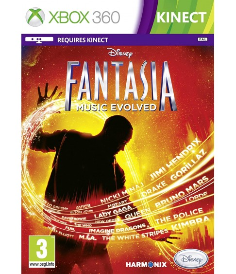 Disney Fantasia Music Evolved [Xbox 360]