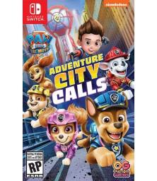 PAW Patrol The Movie: Adventure City Calls Switch