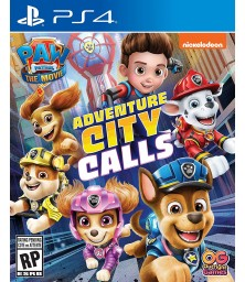 PAW Patrol The Movie: Adventure City Calls PS4