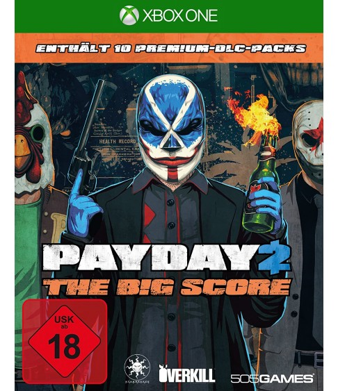 PAYDAY2 The Big Score Xbox One