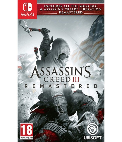 Assassin's Creed III + Liberation Remastered Switch