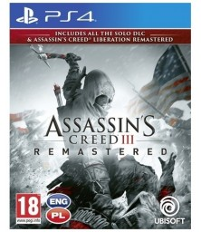 Assassin's Creed III + Liberation Remastered PS4