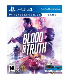 Blood and Truth (PlayStation VR) PS4