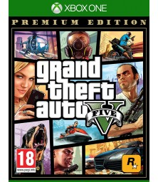 Grand Theft Auto GTA V 5 Premium Edition XBox One