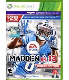 Madden NFL 13 XBox 360