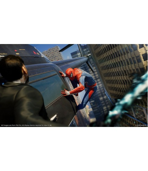 Marvels Spider-Man: Game of the Year Edition PS4