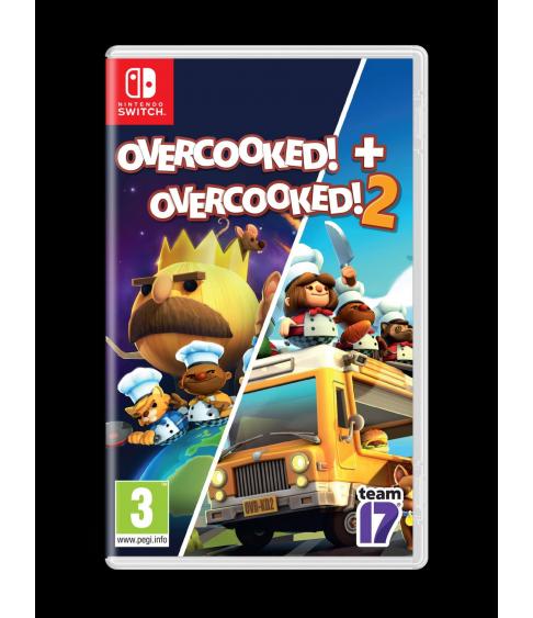 Overcooked Double Pack (Overcooked! + Overcooked! 2) Switch
