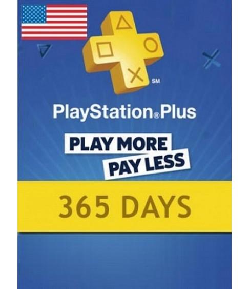 PlayStation Plus liikmekaart, Sony / 12 kuud USA PSN